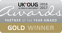 UKOUG Gold Winner 2016-2017