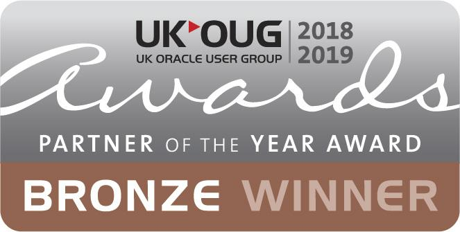 UKOUG Bronze Partner Of The Year Winner 2018-2019