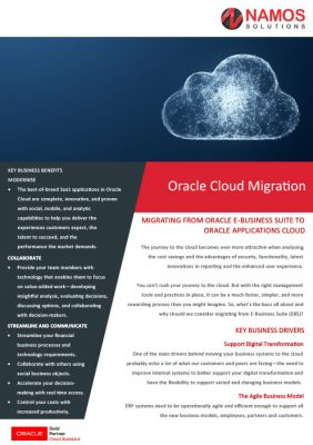 Oracle Cloud Migration