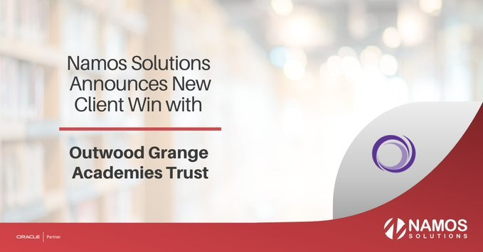 Namos Announces New Client Win with Outwood Grange Academies Trust